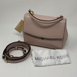 Michael Michael Kors Small Lt Pink Leather Satchel